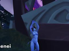 Warlords of Draenor nude patch Alliance