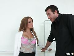 Amy Brooke gets her tight wet asshole fucked by a big cock