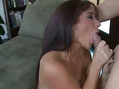Busty brunette Jayden Jaymes gets banged hard