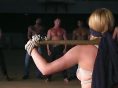 Anal BDSM with tight Krissy Lynn