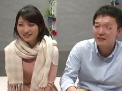 Horny bloke fucks Japanese slut in doggystyle