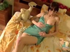 Sweet teen russian pornstar stripping