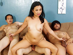 Lucky Starr, Eric Jover in We Wanna Gang Bang Your Mom #22, Scene #02