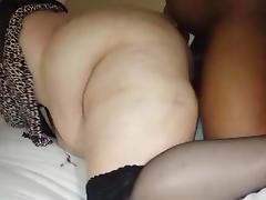 BBW wife cumming again on her new bbc....