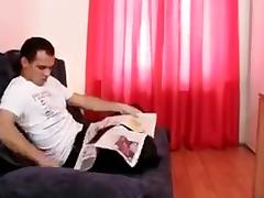 Granny masseuse loves fucking junior cock !