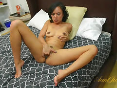 Annie Cruz in Masturbation Movie - AuntJudys