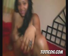 Toticos.com dominican porn - 19yo sexy teen Natacha pt 2