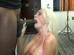 Busty Finnish Stripper Takes BBC Creampie