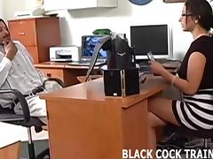 I have to have a taste of that big black cock
