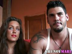 El y Ella dos Bellezones hacen su primera porno