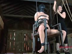 All kinds of nasty BDSM things for the cute redhead called Calico
