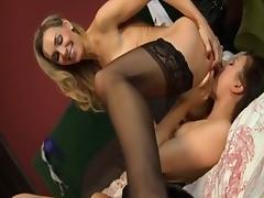 Fabulous pornstars Carla Mai and Tanya Tate in crazy 69, cunnilingus adult clip