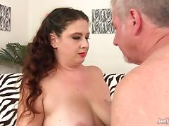 Chubby Brunette Kailie Raynes Loves a Hard Dick Inside Her
