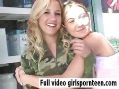 Beautiful girls cute blonde