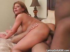 Two big massive boners go into big tit part3