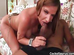 Kaylynn Kage sucking some huge black part6