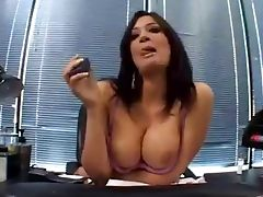 Obedient secretary Tori Lane