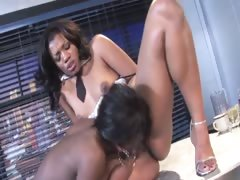 Angel Banxxxgets oral and toy clit stimulation