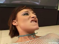 Threesome For Sierra Sinn And Swallow Cum