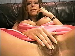 Hairy Matures videos. Young man fucks hairy mature vagina in a kitchen