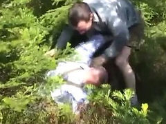 Mountain fuck fest oudoor sex