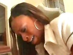 Ebony creampie 5