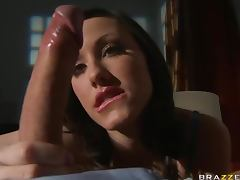 Cock Hungry Teen Jennifer White Swallows Cum After Anal
