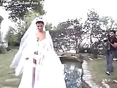 Slutty Bride Fucks The Wedding Photographer