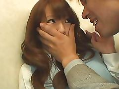Mega Busty Hitomi Tanaka Sucks Cock and Then Gets Fucked and Facialized