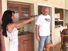 Hardcore Fucking For The Hot Brunette Robber Mya Nichole