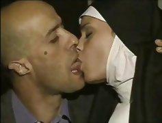 busty nun