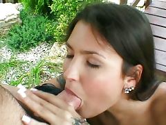 Black haired gets fucked warm