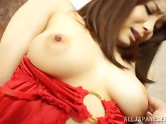 Close up video with adorable Ayano Umemiya getting fucked