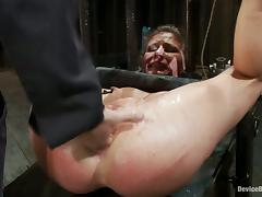 Isis Love Banging Madison Young's Wet Pussy in Bondage Video