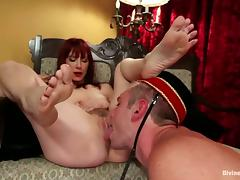 Wild Foot Fetish Action and Femdom by Maitresse Madeline