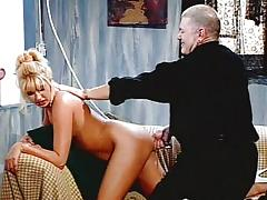 Fetish enema and masturbating pussy