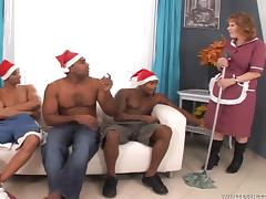 Xmas videos. Many indecent bitches are waiting for a nice Christmas gift - They will get it rough