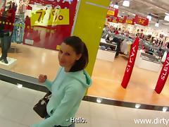 some fun at rub-down the mall