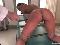 Charley Chase gets tormented and banged by lewd doctor Steve Holmes
