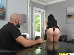 Stunning Riley Carson fucked rough at an audition