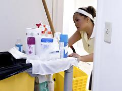 Housekeeper's double pleasure