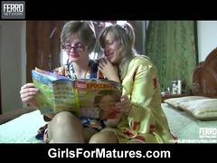 Leonora and Nora mature lesbian