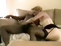 hubby can't live without to feast on stretched gigantic dark penis snatch